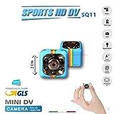 SQ11Kamera Sport Full HD Mini DV Spy Cam Micro Camera Spy SPY versteckte Video Kameras Farbe Blau Pastell