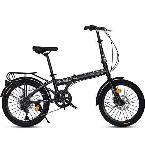 AI CHEN Klapprad Ultraleicht Tragbare Shift Kleinrad Typ Offroad Student Fahrrad Erwachsene Männer und Frauen 20 Zoll