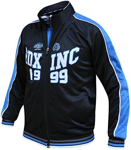 RDX Sweatjacke Workout Pullover Sweatshirt Sportjacke Laufjacke Fitnessjacke Trainingsjacke Tracktop (MEHRWEG)