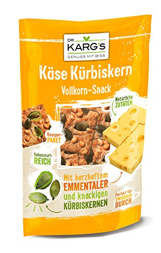 Preisvergleich Produktbild Dr. Karg Käse Knäcke Snack (Vollkorn),  10er Pack (10 x 110 g Beutel)
