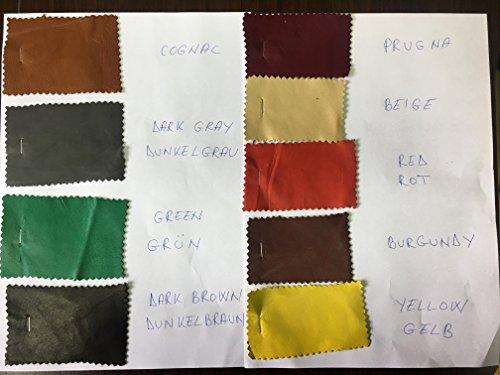 Gants de conduite pour hommes Cuir d'agneau Noir By Hungant Noir