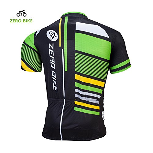 ZEROBIKE® Breve ciclismo maglia traspirante uomo asciutto rapido sportivo vestiti della bicicletta Type 3