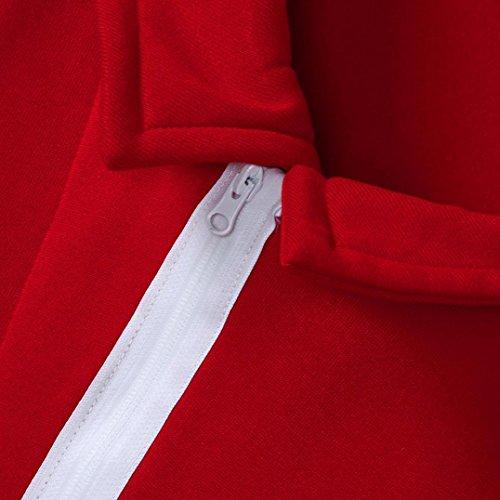 HKFV - Canottiera -  donna Red S