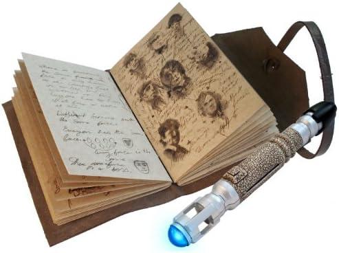 Coffret Doctor Who - Le Journal des choses impossibles    Tourvenis Sonique (Stylo  Lampe) | Pour Votre Sélection  5edc63