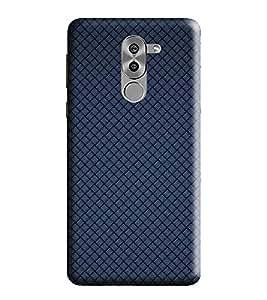 HiFi Designer Phone Back Case Cover Honor 6x :: Honor6x :: Huawei Honor 6X :: Huawei Mate 9 Lite :: Huawei GR5 2017 ( Blue Pattern Design )