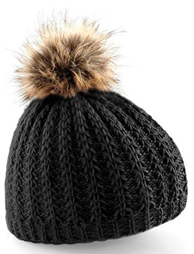 Beechfield - Bonnet - Homme - Noir - Noir - Taille unique