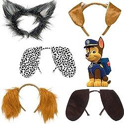 Lollipop Clothing Paw Patrol Ears Headbands Fancy Dress Children Fun Novelty Book Day Birthday