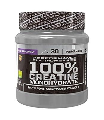 Nutrytec Sport Unisex Creatine Monohydrate Lemon Flavour Powder Mix G, Multicolour, 300 g from Nutrytec