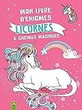Mon livre d'énigmes licornes et chevaux magiques