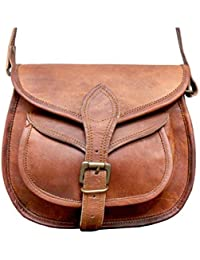 9Leather Messenger Shoulder Cross Body Bag New Side Bags For Girls & Women Daily Use By Prastara