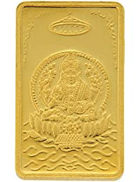 TBZ - The Original 10 gm, 24k(999) Yellow Gold Laxmi Precious Coin