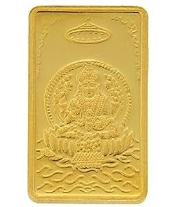 TBZ - The Original 10 gm, 24k(999) Yellow Gold Laxmi Precious Coin