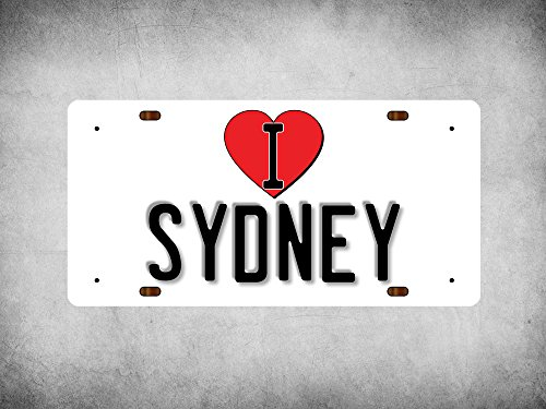 wp-ilc-159-i-love-heart-sydney-white-background-design-metal-wall-plate