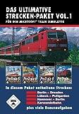 Produkt-Bild: Train Simulator - Das ultimative Strecken-Packet Vol. 1 (ProTrain 5 Berlin - Dresden / ProTrain 6 Lübeck - Puttgarden / ProTrain 8 Hannover - Berlin / ProTrain Karwendelbahn)