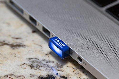 Lexar JumpDrive S45 USB 3.0 128GB Pen Drive (Black)