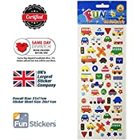 Fun Stickers Cars and Transport