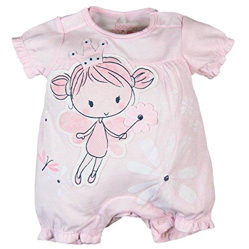 Sieht Aus Wie Baby-strampelanzug (Bóboli Baby-Mädchen Body Knit Play Suit For Girl, Rosa (Rose 3000), 74 (Herstellergröße: 9M))