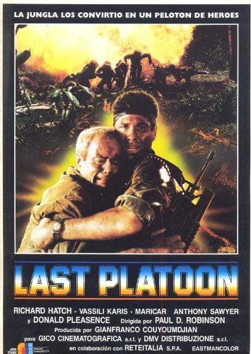 Last Platoon Plakat Movie Poster (11 x 17 Inches - 28cm x 44cm) (1988) Spanish