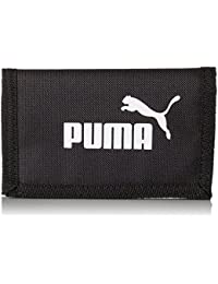 Puma Phase Wallet Cartera, Unisex, Black, OSFA