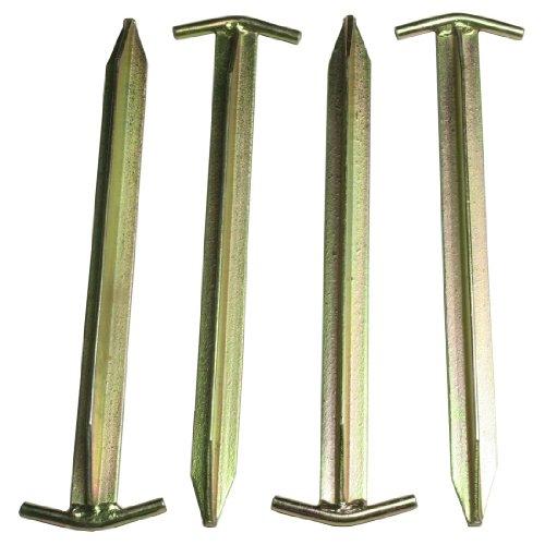 10T Zeltheringe – Stahl T-Profil, 4er-Set - 5