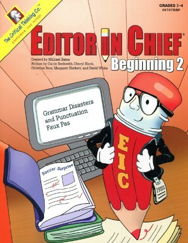 Faux-block (Editor In Chief Beginning Book: Grammar Disasters and Punctuation Faux Pas (Editor in Chief Beginining) by Beckwith, Carrie, Block, Cheryl, White, David, Hockett, Marg (2002) Paperback)
