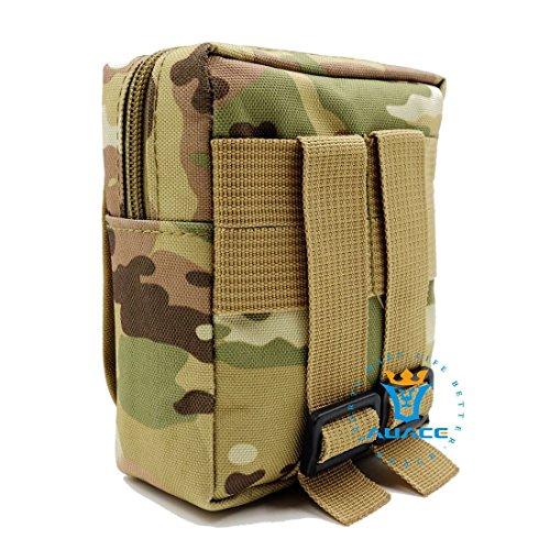 Multifunzione sopravvivenza Gear Tactical Borsa quotidiana tattico Pouch marsupio, Marsupio Outdoor Campeggio strumento portatile Borse da viaggio Borse Sacchetti per Pouch, MC CP