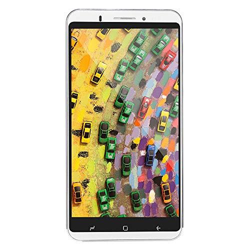 Oasics Smartphone 6,0 Zoll Doppel-HDCamera Smartphone Android IPS-Full-Bildschirm GSM/WCDMA 8 GB Touchscreen WiFi Bluetooth GPS 3G Anruf-Handy (Weiß)