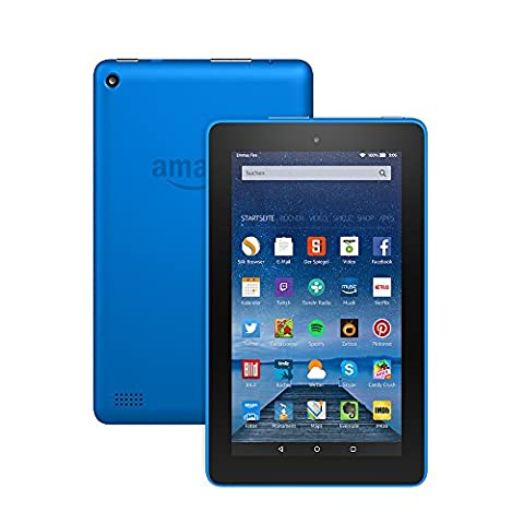 Fire-Tablet, 17,7 cm (7 Zoll) Display, WLAN, 8 GB (Blau)