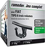 Rameder Attelage démontable avec Outil pour Fiat Tipo A Trois volumes + Faisceau 7...