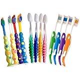 Infantil Cepillos de dientes ~ Bulk Pack de 12