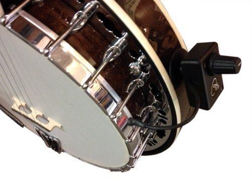 Banjo Tonabnehmer, mit flexiblem micro-goose Hals von Myers Pickups ~ siehe ES in Action. Kopieren und Einfügen: myerspickups. COM