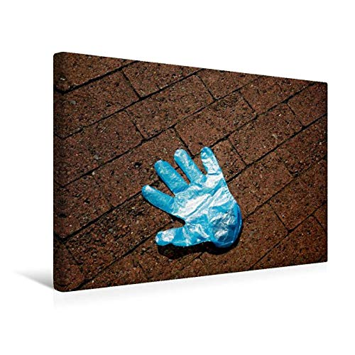 Calvendo Premium Textil-Leinwand 45 cm x 30 cm Quer, Ein Motiv aus Dem Kalender Handschuhe – Verloren – Vergessen | Wandbild, Bild auf Keilrahmen, Fertigbild Leinwand, Leinwanddruck Menschen Menschen - 5