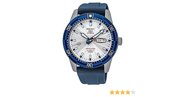 Seiko Men s Analogue Automatic Watch with Rubber Strap - SRP781K1   Amazon.co.uk  Watches 0957a821cc