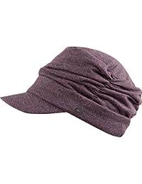 TOULOUSE Cap-Mütze für die modebewußte Frau, Balloncap im Kopftuch-Look, Sommer Frühling