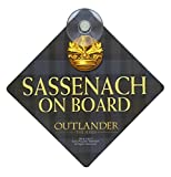 Outlander Sassenach On Board Car Sign