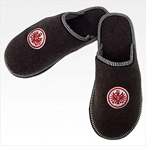 Bertels 1/051888 Eintracht Frankfurt Filz-Pantoffeln Größe 46/47