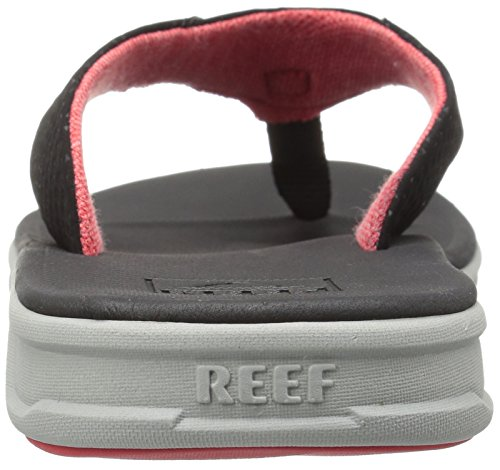 Reef Herren Rover Sandalen, Schwarz, Talla única Grey Black Red
