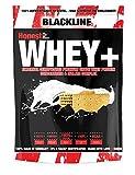 BlackLine 2.0 Honest Whey+ Whey 12,5% Isolate Premium Protein Eiweiß Proteinshakes Eiweißshakes 1000g (Butterkekse)