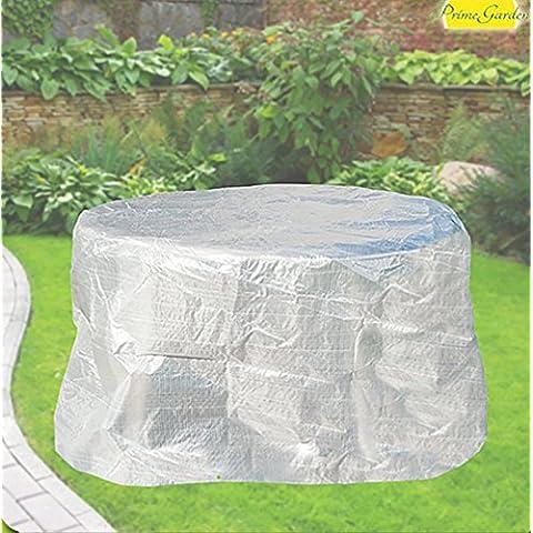 comodidad funda para mesa ovalada 160cm, muebles funda transparente