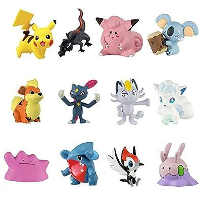POKEMON Special BOX 12 Figures 4cm ORIGINAL Tomy - XL MULTI FIGURE PACK Wave 4 T19253 de Pokemon TOMY