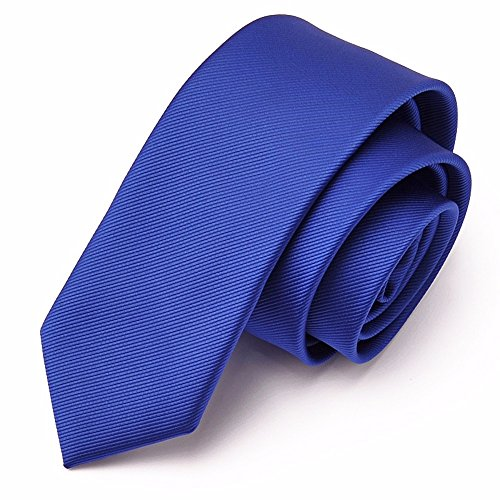 IHAOGEI Mens Geschenk Skinny Krawatte Modernes 6 Cm Hochzeit Krawatte Krawatte Set: Gestreifte Krawatte + Geschenkbox - Verschiedene Farben, F Schlips