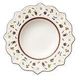 Villeroy & Boch Toy's Delight Suppenteller, weiß, aus hochwertigem Premium Porzellan, 26 cm