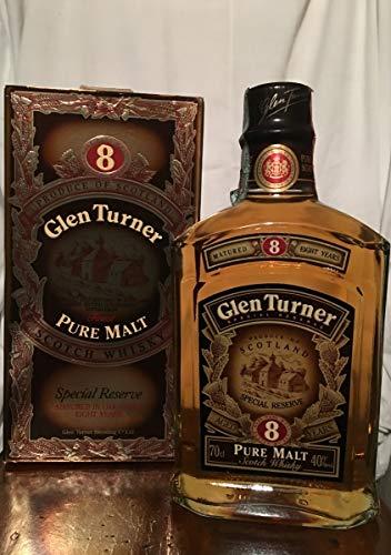 Glen Turner 8yo mit Fall 70cl old bottle Turner Fall