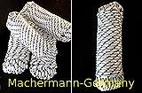 Nr.43 Polypropylen Seil 8 mm x 30 m,Tauwerk, Leine, Reepseil, Bootsleine Schnur, Seil, Tau, Flechtleine