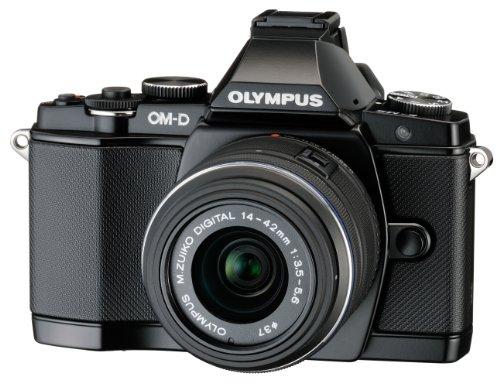 Olympus E-M5OM-D Fotocamere Compatte (16Mega Pixel, 7,6cm (3pollici), Stabilizzatore d' Immagine)
