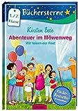Abenteuer im Möwenweg. Wir feiern ein Fest: Mit 16 Seiten Leserätseln und -spielen (Büchersterne)