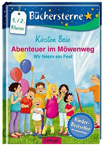 Abenteuer im Möwenweg 02: Wir feiern ein Fest: Mit 16 Seiten Leserätseln und -spielen