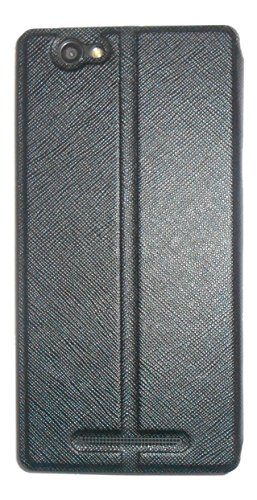 Xolo Era 1X Diary Flip Cover from Mercator - Black
