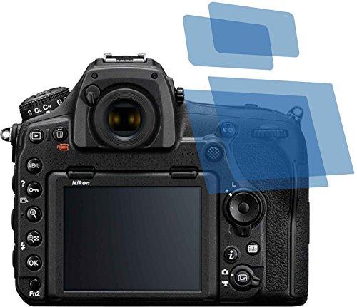 2x Crystal clear klar Schutzfolie für Nikon D850 Displayschutzfolie Bildschirmschutzfolie Schutzhülle Displayschutz Displayfolie Folie