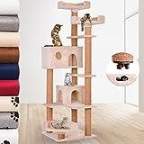 JakoCat Katzenkratzbaum Kratzbaum Katzenbaum Möbel für Katzen 166 cm hoch mit Quick-Connect Verbindung in der Farbe nach Ihrer Wahl